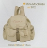 Picture of B12 - Bolsa  Mini Mochilão - Capezio