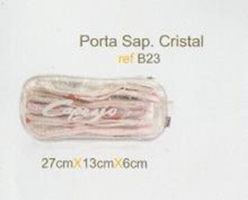 Picture of B23- Bolsa Porta Sapatilha Cristal -  Capezio