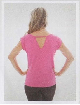 Picture of RY148 - Blusa Decote nas Costas - Capezio