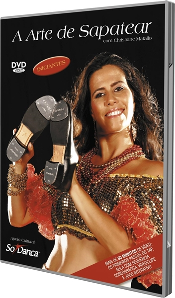 Picture of DVD01 - DVD Christiane Matallo Iniciantes - Só Dança