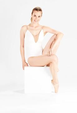 Imagen de SD701 - Collant com alças reguláveis - Só Dança