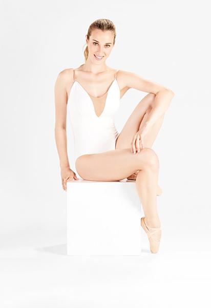 Imagem de SD701 - Collant com alças reguláveis - Só Dança