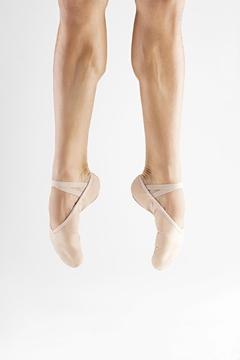 Imagen de F76 - Sapatilha Masculina Profissional Sola separada em Lona com faixa Stretch - Só Dança