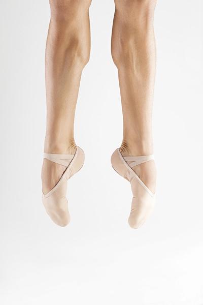 Picture of F76 - Sapatilha Masculina Profissional Sola separada em Lona com faixa Stretch - Só Dança