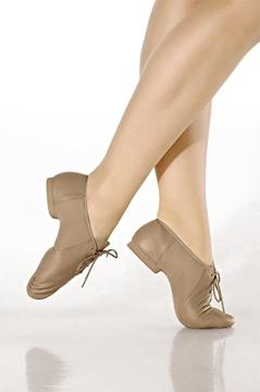 Imagem de F54/A - Sapato Profissional em couro, sola camurça - Só Dança