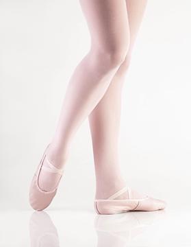Imagen de F3 - Sapatilha Sola separada em couro - Só Dança