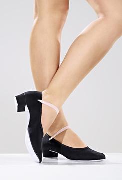 Picture of S88 - Sapato em Lona para exame do Royal com elástico- Só Dança