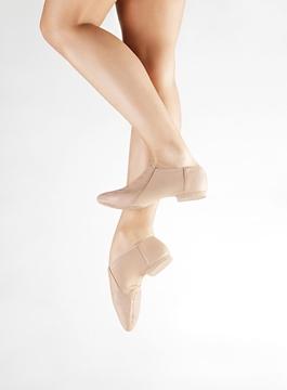 Imagen de JZE43/A - Botinha em couro, sola camurça - Só Dança