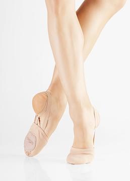 Imagem de BA41 - Sapatilha Meia Sola em Lona Stretch - Só Dança