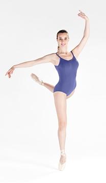 Imagem de 5402 - Collant com alça de viés adulto - Só Dança