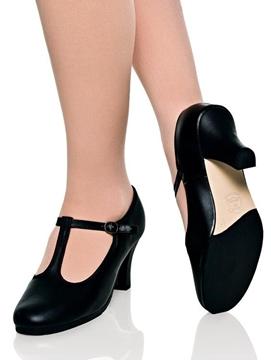 Imagem de 41 - Sapato Feminino salto 6,5cm e sola borracha - Capezio