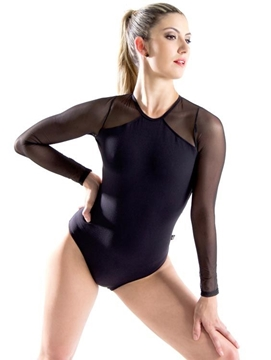 Picture of DS067 - Collant Manga Longa- Capezio