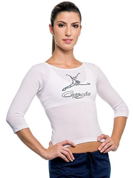 d801291bd4 Império da dança. BLU01 - Camiseta Bluskin - Capezio