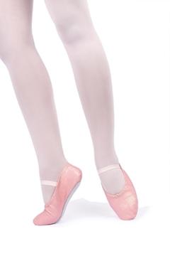 Imagen de AF22/D - Sapatilha Meia Ponta para Adultas em Brilho Glitter - Só Dança