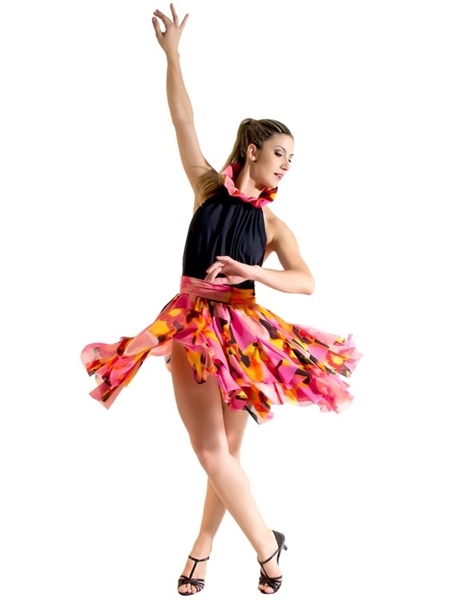 Picture of DS079 - Vestido de Crepe - Capezio