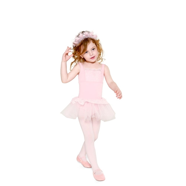 Picture of SD1206 - Collant Alça Viés Infantil - Só Dança