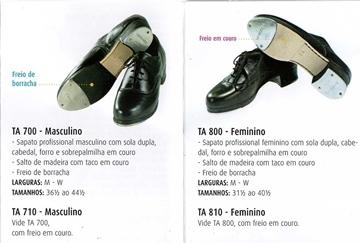 Picture of TA800 - Sapato Sapateado freio borracha - Só Dança