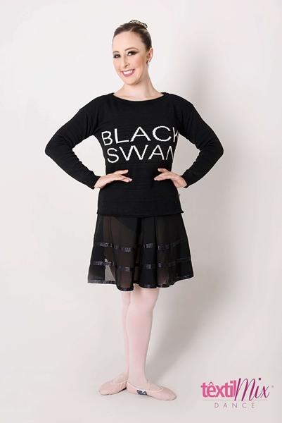 Imagem de 201904 - BLUSA BLACK SWAN - Têxtil Mix