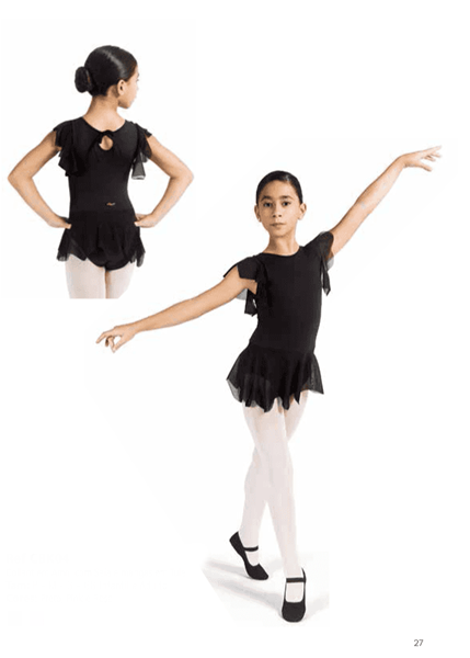 Picture of CBK04 - Collant em Amni com Saia- Capezio