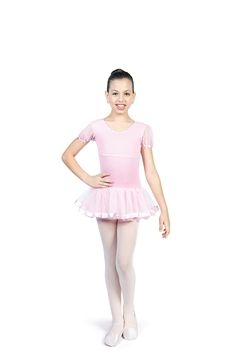 7e6af374e5 ... Picture of 1076 - Collant meia manga Amni - Capezio