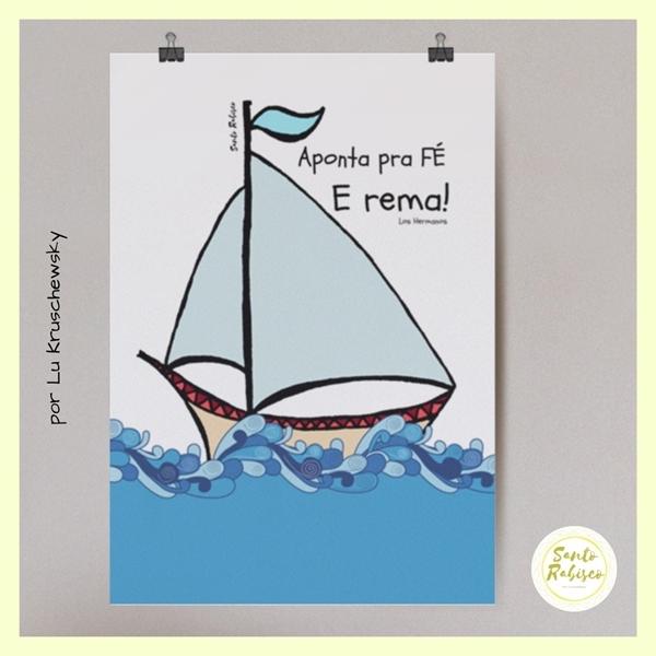 Picture of Poster - Aponta pra fé e rema