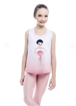 Imagen de SD1551 - Camiseta Regata Toshiezinha Infantil - Só Dança