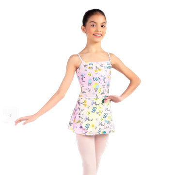 Imagem de SD1621 - Collant Olivia Infantil - Só dança
