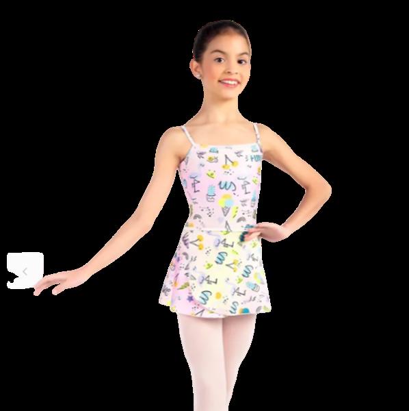 Picture of SD1621 - Collant Olivia Infantil - Só dança