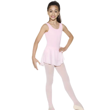 Imagem de 5429 - Collant Regata em helanca com Saia em Jersey - Só Dança