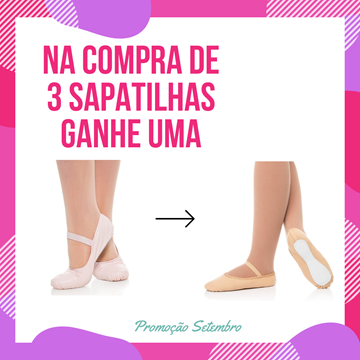 Picture of Pronta entrega - Kit Sapatilha  - Infantil e Adulto