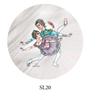 Imagem de SD1795 - Pantufa Bailarina Adulto - Só Dança