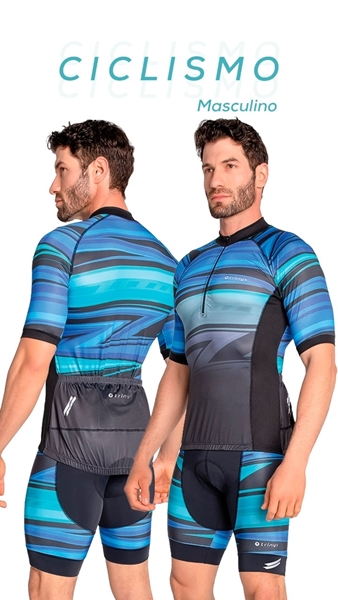 Picture of C14416 - Camisa Masculina Ciclismo - Trinys