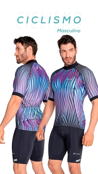 Picture of C14422 - Camisa Masculina Ciclismo - Trinys