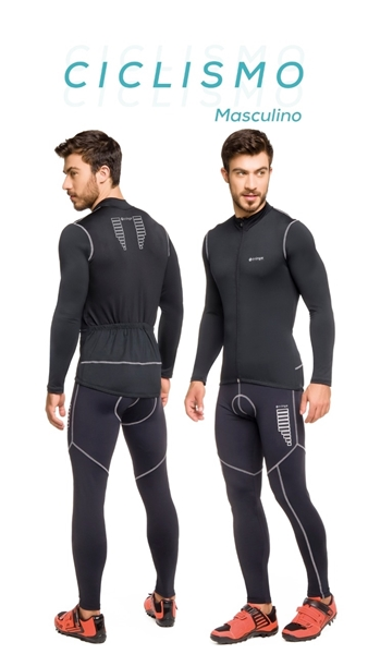 Picture of C14412 - Blusa Masculina Ciclismo - Trinys