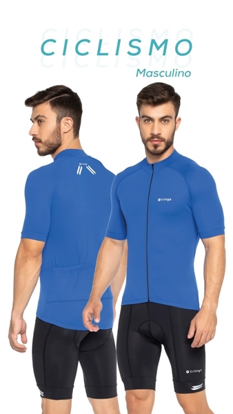 Picture of C14445 - Camisa Masculina Ciclismo - Trinys